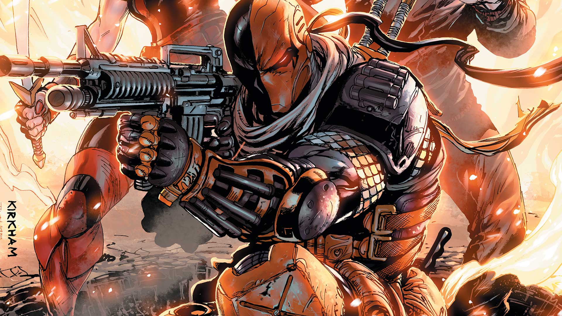 ugh they re making a deathstroke movie and ugh it might be